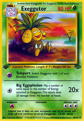 Exeggutor - 35/64 - Uncommon - 1999-2000 Wizards Base Set Copyright Edition