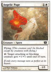 Angelic Page on Channel Fireball
