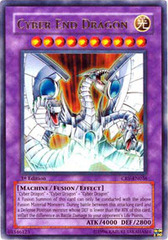 Cyber End Dragon - CRV-EN036 - Ultra Rare - 1st Edition