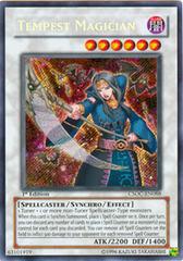 Tempest Magician - CSOC-EN088 - Secret Rare - 1st Edition
