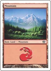 Mountain (343) on Channel Fireball