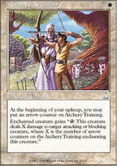 Archery Training on Channel Fireball