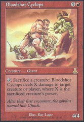 Bloodshot Cyclops on Channel Fireball