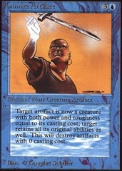 Animate Artifact on Channel Fireball