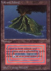 Volcanic Island on Channel Fireball