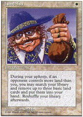 Land Tax on Channel Fireball