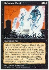 Animate Dead on Channel Fireball