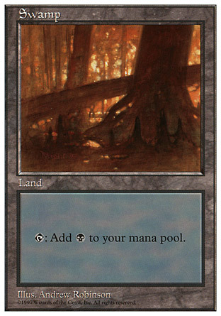 Swamp (444) (Fallen Tree)