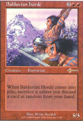 Balduvian Horde on Channel Fireball
