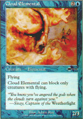 Cloud Elemental on Channel Fireball