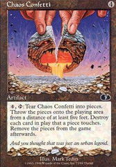 Chaos Confetti on Channel Fireball