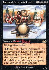 Infernal Spawn of Evil on Channel Fireball