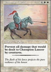 Champion Lancer on Channel Fireball