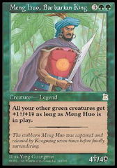 Meng Huo, Barbarian King on Channel Fireball