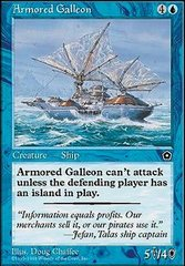 Armored Galleon on Channel Fireball