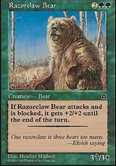 Razorclaw Bear on Channel Fireball