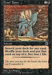 Cruel Tutor on Channel Fireball