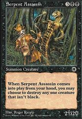 Serpent Assassin on Channel Fireball