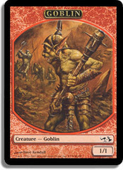 Goblin Token on Channel Fireball