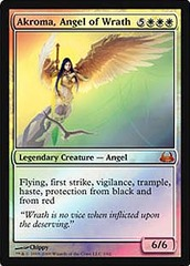 Akroma, Angel of Wrath - Foil on Channel Fireball