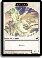 Spirit Token on Channel Fireball