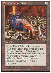 Serpent Generator on Channel Fireball