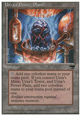 Urza's Power Plant (Rock in Pot) on Channel Fireball