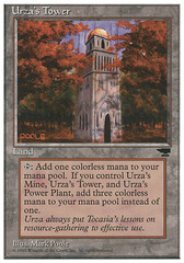 Urza's Tower (Forest) on Channel Fireball