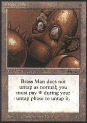 Brass Man on Channel Fireball