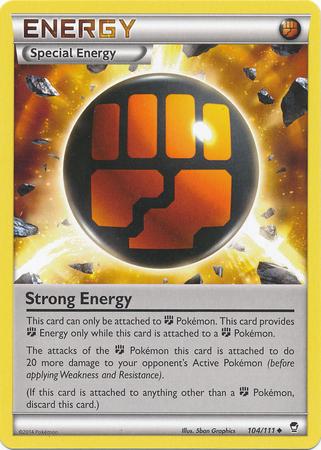 Strong Energy - 104/111 - Uncommon