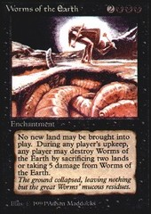 Worms of the Earth on Channel Fireball