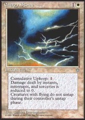 Energy Storm on Channel Fireball