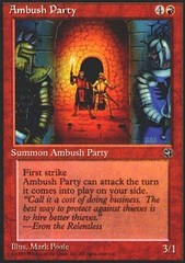 Ambush Party on Channel Fireball