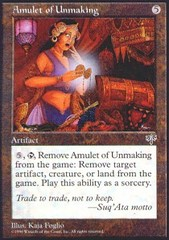 Amulet of Unmaking on Channel Fireball