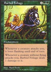 Barbed Foliage on Channel Fireball