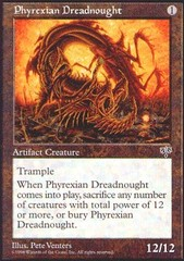 Phyrexian Dreadnought on Channel Fireball