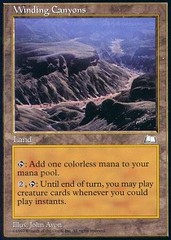 Winding Canyons on Channel Fireball
