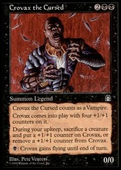 Crovax the Cursed on Channel Fireball