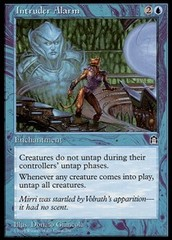 Intruder Alarm on Channel Fireball