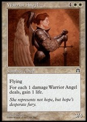 Warrior Angel on Channel Fireball