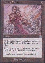 Barbed Wire on Channel Fireball