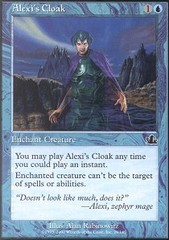 Alexi's Cloak on Channel Fireball