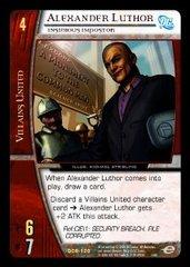 Alexander Luthor, Insidious Impostor