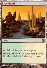 Brushland on Channel Fireball