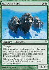 Aurochs Herd on Channel Fireball