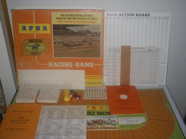 APBA American Saddle Racing