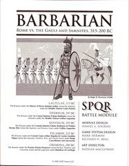 Barbarian: SPQR Module