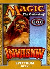 Invasion Spectrum Precon Theme Deck on Channel Fireball