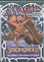 Stronghold The Spikes Precon Theme Deck