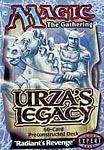 Urza's Legacy Radiant's Revenge Precon Theme Deck